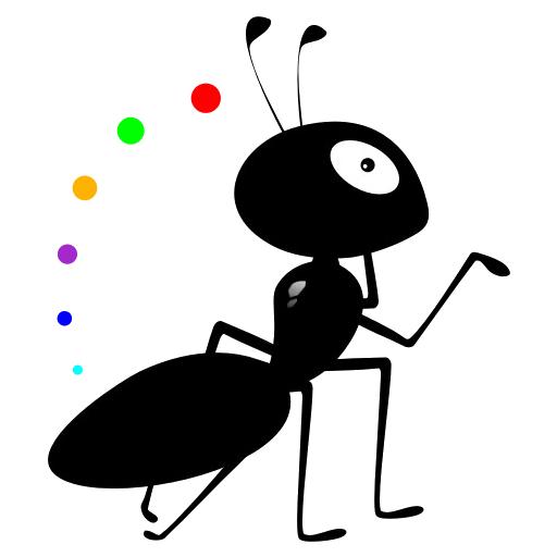 小蚂蚁回家