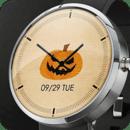 南瓜表盘:Pumpkin Watch Face