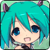 VocaloidClockWidget