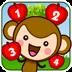 皮皮猴数苹果-认数字
