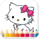 Little Cute Kitty Coloring