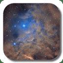 银河系星云生活壁纸