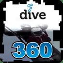 滑翔潜水360度VR