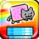 飞翔彩虹猫