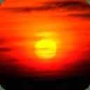 自然拼图:日落 G