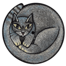 cat clock widget 3x3