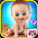 女婴日间护理游戏
