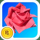 虚拟工厂:折纸玫瑰