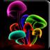 3 D蘑菇壁纸