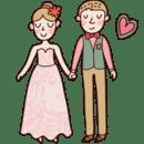 可爱的婚礼主题GO桌面