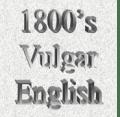 19世纪英文俗词