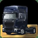 3D模拟卡车拖车