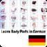 学习德语身体词汇发音