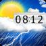 天气与时钟小部件