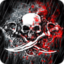 Skull And Swords Live Wallpape