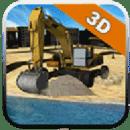 3D挖掘机拖拉机
