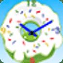 甜甜圈时钟