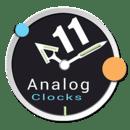 Analog Clocks Pack 11 UC...