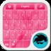GO Keyboard Pink Language