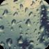iPhone雨滴锁屏