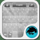 GO Keyboard Silver
