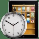 Clock widjet for iBook