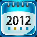2012月历