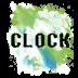 水彩画时钟