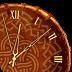 部落时钟挂件