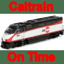 Caltrain on time 时刻表