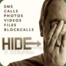 隐藏文字呼叫,照片,文件,视频