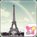 彩虹艾菲尔铁塔
