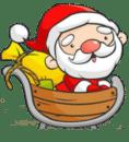 圣诞老人的雪橇