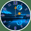 月亮时钟小工具