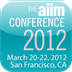 AIIM Conference 2012