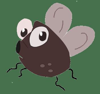 苍蝇卡通图片可爱