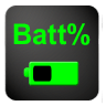 电池的百分比