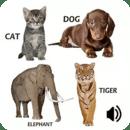 孩子学动物的声音