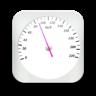 GPS测速仪:白色版