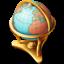 地球仪地图