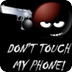 Not touch phone gun shot