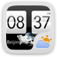 GO天气小插件皮肤HTC风格
