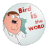 The bird is the word(鸟字)