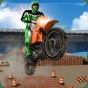 疯狂摩托特技3D