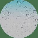 iPhone5s雨滴锁屏