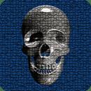Skull Clock Widget 2x2