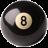3D魔术8号球