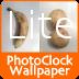 Photo Clock Wallpaper Lite