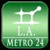 洛杉矶 地铁24地图