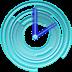 Blue Chill Clock
